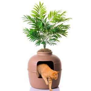 litiere-design-camouflee-palmier