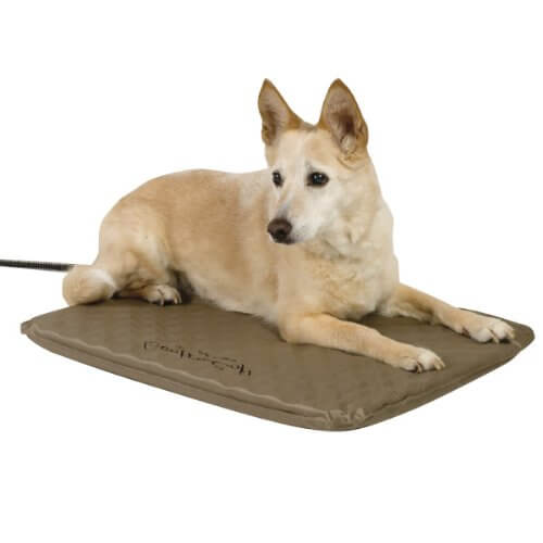 Tapis chauffant chien taille moyenne