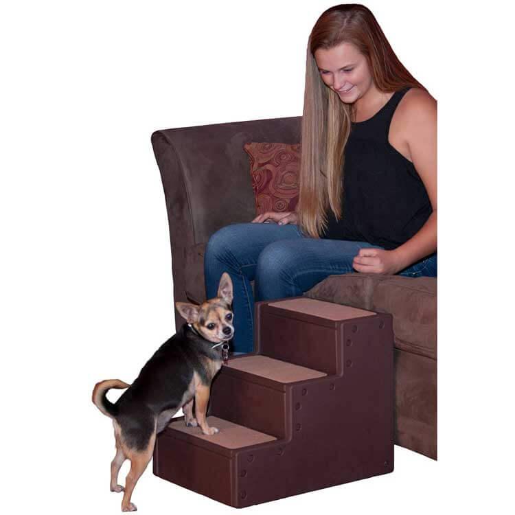 escaliers pet gear iii step pet pour chien ou chat lebernard
